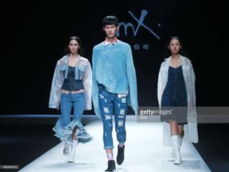 Mercedes Benz China Fashion Week SS 18 Denim