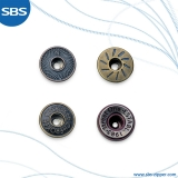 Single Prong Jeans Button