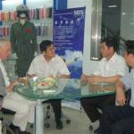 Nobel Laureate in Economics Phelps Came to Visit and Inspect SBS Zipper
