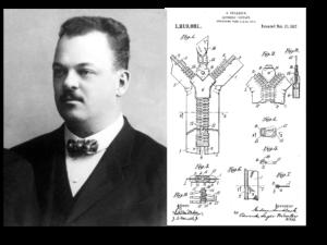 Gideon Sundback's zipper