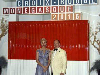 Princess Charlene at the 68th Monaco Red Cross Gala