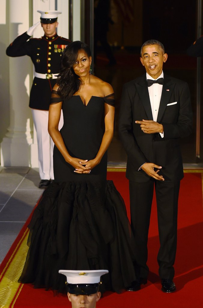 Michelle Obama's Style Evolution: 30 Most Memorable Gowns Adorned By The First Lady of United ...