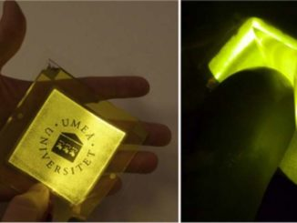 Ultra-flexible & lightweight textile that can emit light