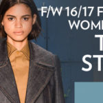 Women's FW 2016-17 Denim Trends