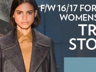 Women's FW 2016-17 Denim Trends
