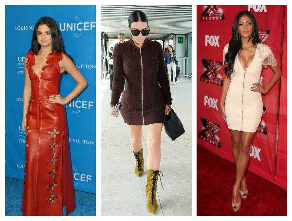 Top-to-bottom Zipper Dress