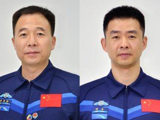 China's new Astronaut Center uniform