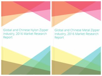 Global and Chinese Nylon,Metal Zipper Industry 2016 Market Research Report