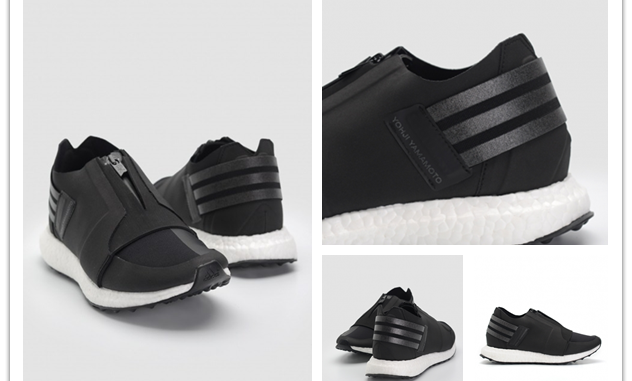 0704c24dcfd3 Adidas Y-3 X-Ray Zip Low Boost – The Futuristic Sneaker With Zipper At Its  Core