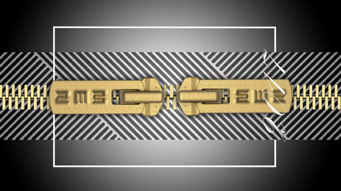 heavy duty metal zipper