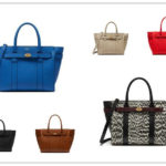 Mulberry Newly Released Zipped Bayswater Handbag Collection