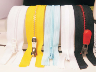 colorful zipper tapes