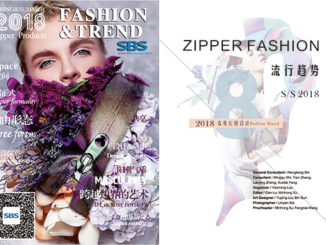 SBS Zipper Fashion Trend Spring & Summer 2018 Catalogue Cover