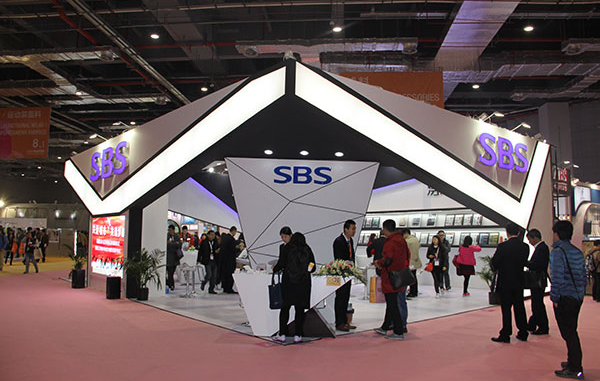 SBS in the China International Trade fair for Apparel Fabrics and Accessories (Spring and Summer)