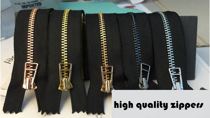 high quality zippers