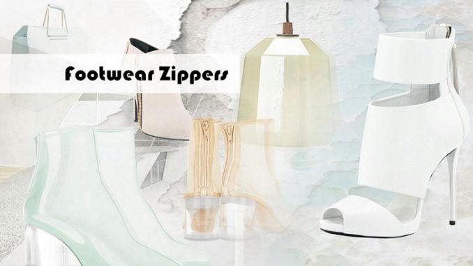 footwear zippers