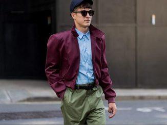London Fashion Week Men's SS18 Street Style Look
