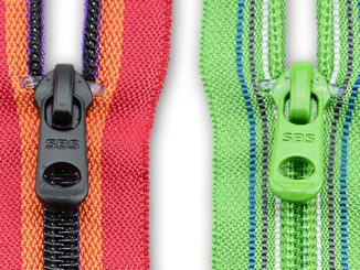 color combination of coil zippers