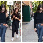 Selena Gomez Sets in Motion a Giant Jeans Zipper Trend