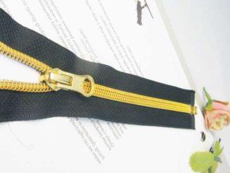 coating coil zipper