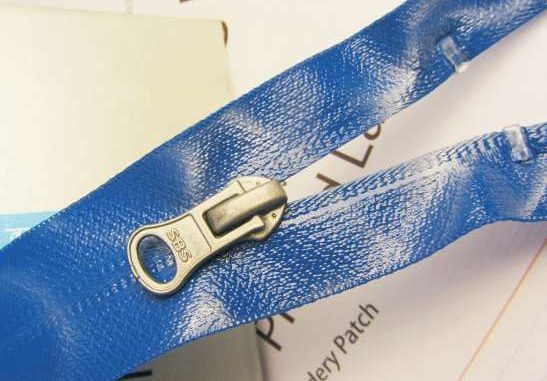 rubberizing waterproof coil zipper