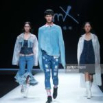 The 15 Best Denim Looks At Mercedes Benz China Fashion Week SS 18