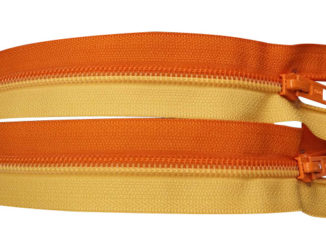 nylon coil mutual-assembled zippers