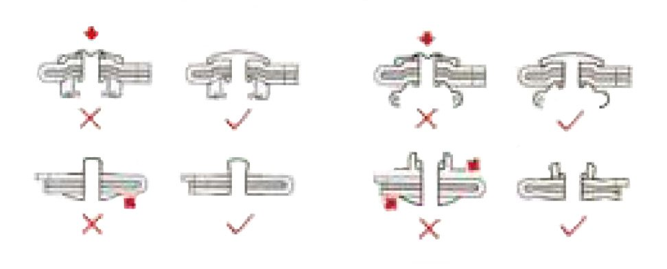 How To Attach Buttons/Snap Fasteners Correctly | Decorative