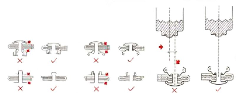 wrong and correct attaching method 2