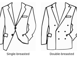 single vs. double-breasted jackets