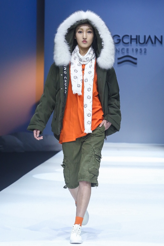 Down jackets in China Fashion Week AW 2018-2019-2
