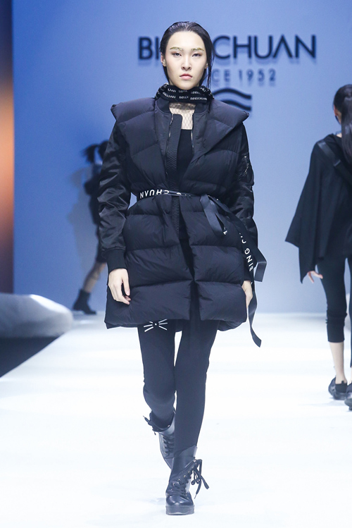 Down jackets in China Fashion Week AW 2018-2019-4