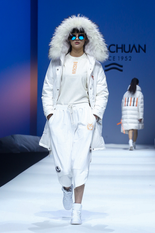 Down jackets in China Fashion Week AW 2018-2019-3