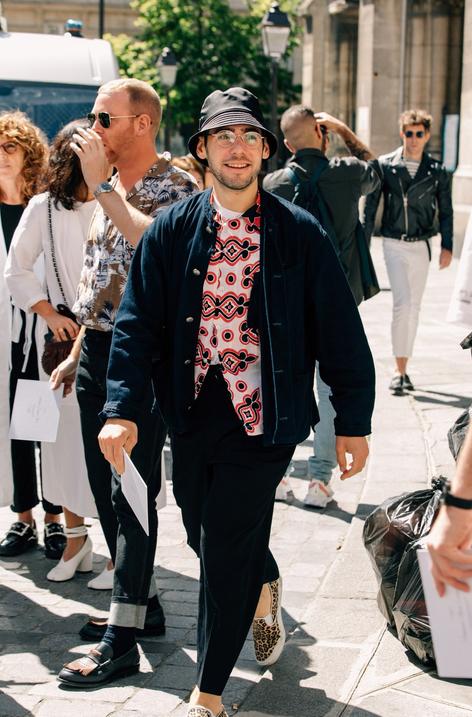 The Best Street Style Looks of Paris Fashion Week Men's SS 19 7