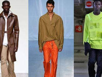 London Fashion Week Men's 2019 trends