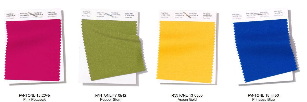 Pantone Color Report NY Fashion Week Spring 2019 1
