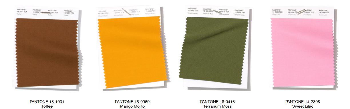 Pantone Color Report NY Fashion Week Spring 2019 2