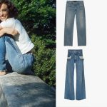 Step Aside Cropped Jeans; Straight Denim Trend