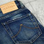 What is the Leather Label of Jeans