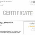Eco-friendly Zippers: Environmental Standards of ECO-Label and Oeko-Tex