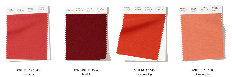 Resultado de imagen de pantone cranberry fashion