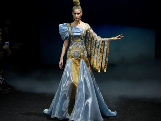 How Guo Pei's East Palace Collection Turns Heads on Paris Haute Couture 2019