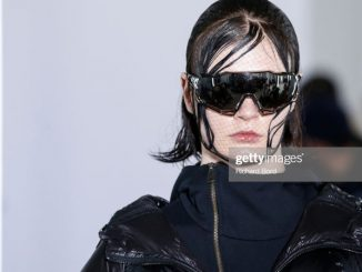 The Black Collections with Finest Zipper Design at Paris Fashion Week