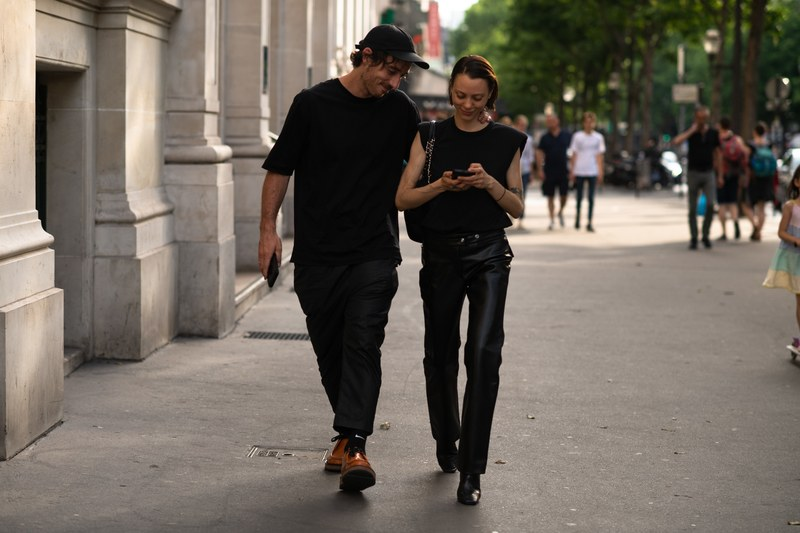 Chic Parisian Couple