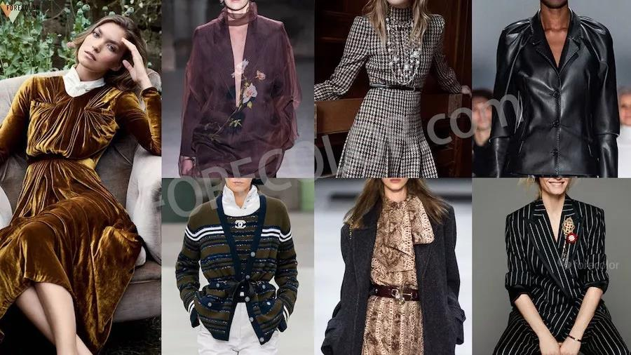 Winter Fashion Trends 2020.Retro Stories The Fashion Trend Of Autumn Winter 2020