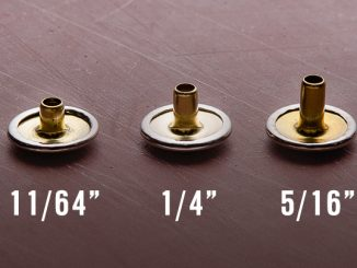 How to Chose a Snap Button's Barrel Length