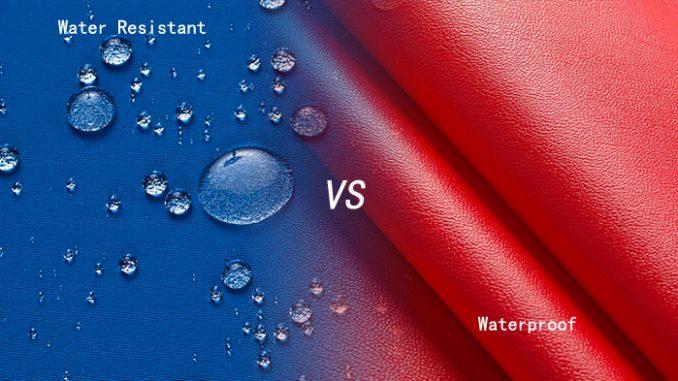 Waterproof Or Water Resistant