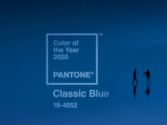 The Color of Fashion in the Year 2020 - Classic Blue