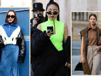Half-zip fashion