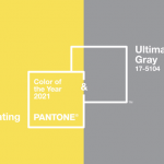 Colors of The Year 2021-Ultimate Gray and Yellow Illuminating